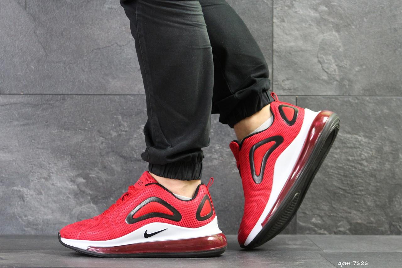 ed27169d Мужские кроссовки Nike air max 720,плотная сетка,красные, цена 1 538 ...