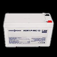 Аккумулятор мультигелевый AGM LPM-MG 12 - 7AH, фото 1
