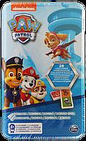 Настольная игра Spin Master домино Paw Patrol в жестяной коробке (SM98408/6033087)
