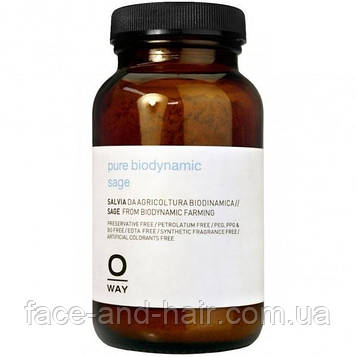 Пудра шалфея для жирной кожи головы Rolland Oway Rebalancing Pure Biodynamic Sage 50 г