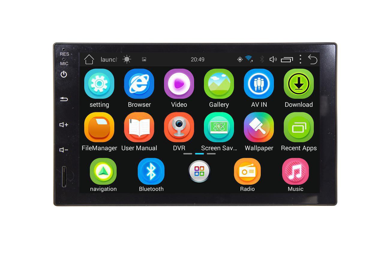 Универсальная автомагнитола EasyGo A190 (Universal) Android