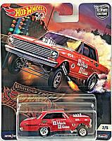 Коллекционная машинка Hot Wheels  '63 Chevy II NOVA Gasser