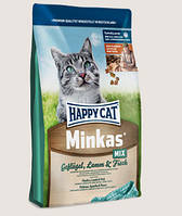 Happy Cat Minkas MIX Сухой корм для кошек, 10 кг