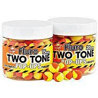 Бойлы Dynamite Baits Two Tone Tutti Frutti&Pineapple Cream Fluro Pop-Ups 15mm 100g