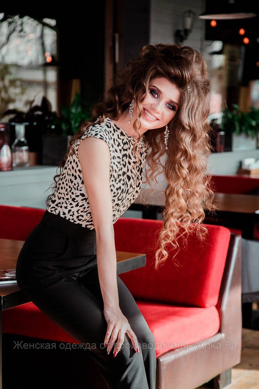 Леопардовый классический комбинезон