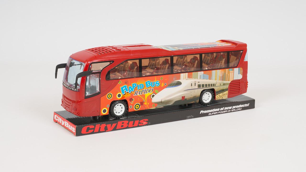 Автобус инерционный. 2 цвета