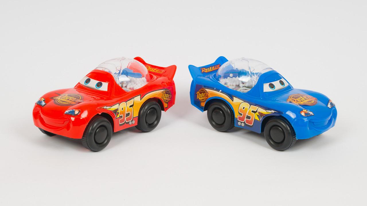 Машинка Тачки - заводная. 2 цвета