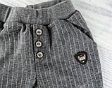 Штаны для мальчиков Полоска Серый Breeze Турция, фото 2