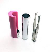 Пинцет для бровей с подсветкой в футляре с зеркалом hubIcpr37362, КОД: 294300