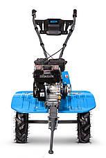 Бензиновый мотоблок Bizon 900 LUX(синий цвет) , фото 3