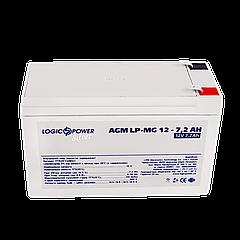 Акумулятор мультигелевый AGM LPM-MG 12 - 7.2 AH