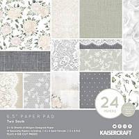 Набір одностороннього паперу - Two Souls - Kaisercraft - 16.5х16.5