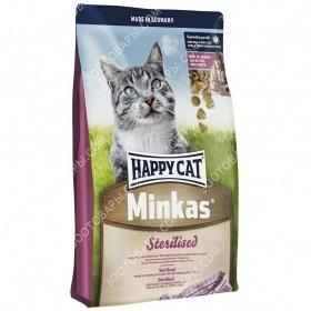 Happy Cat Minkas Sterilised Сухой корм для кошек, 10 кг