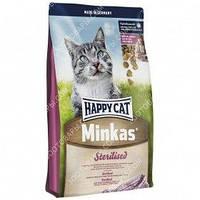 Happy Cat Minkas Sterilised Сухой корм для кошек, 10 кг, фото 1
