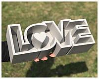 Пенобокс для цветов - Love 38*14*10