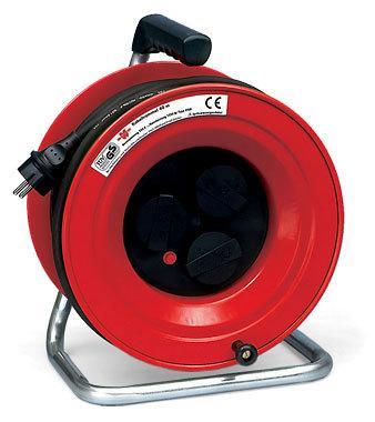 Электрический удлинитель на катушке WURTH H07RN-F3G1.5 длинна 40 м.