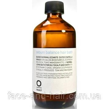 Шампунь для жирной кожи головы Rolland Oway Rebalancing 240 мл