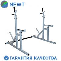 Стойки для жима и приседаний c упорами Newt Gym