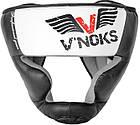 Боксерский шлем V`Noks Aria White L, фото 6