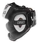 Боксерский шлем V`Noks Aria White L, фото 9