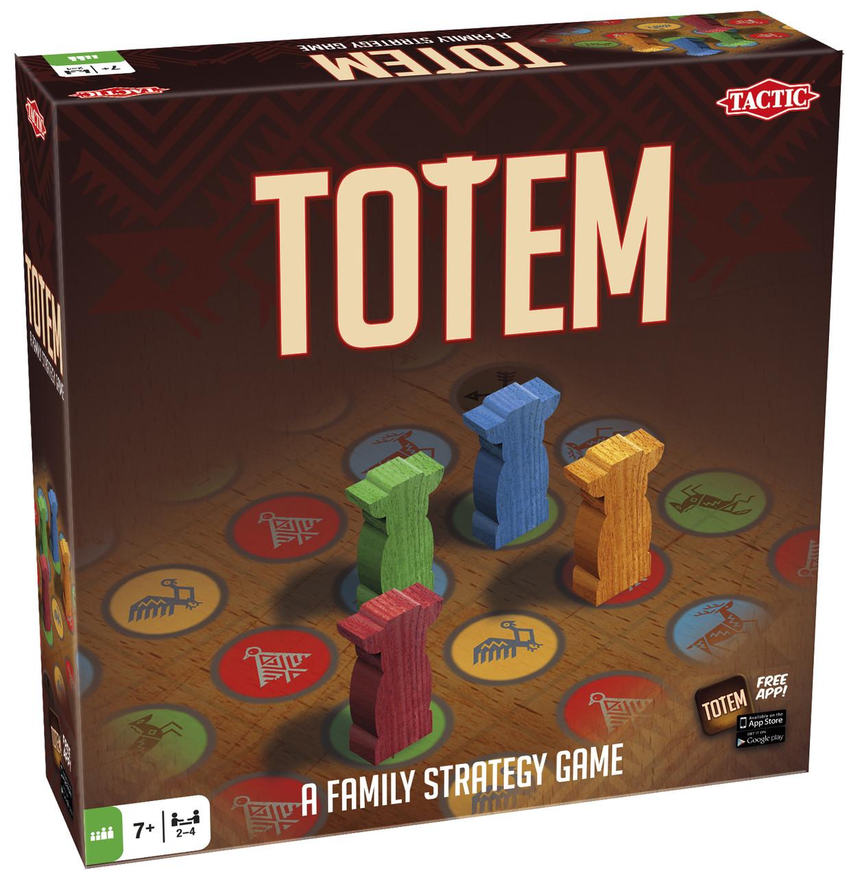 Настольная игра Tactic Тотем (53690)