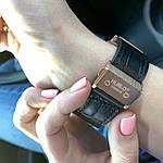 Стильные женские наручные часы Hublot черные (реплика), фото 4