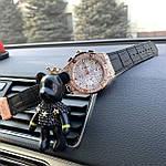 Стильные женские наручные часы Hublot черные (реплика), фото 5