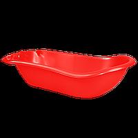 Детская ванночка с термометром Красная 18-123074-8, КОД: 354736