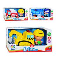 Детский игровой набор Keenway 12673-4-5 Спецтехника