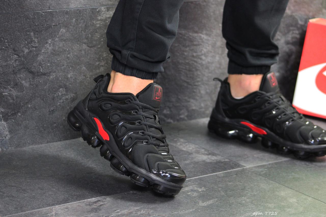 4167ea1d Кроссовки Nike Air Vapormax Plus черные, мужские (ТОП Реплика ...