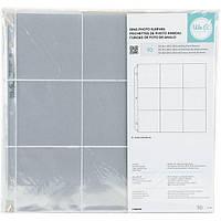 Сторінки для Project Life - WeRMK - 30x30 - кишені 10х10 Ціна за 1 шт.