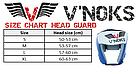 Боксерский шлем V`Noks Lotta Blue M, фото 10