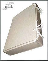 Папка-бокс картонная А4 с завязками 60 мм, фото 1