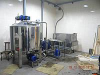 Линия восстановления сухого молока и сухих компонентов для превращения в однородную массу