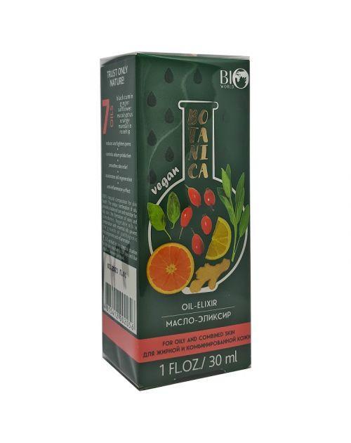 Масло-эликсир для жирной и комбинированной кожи BioWorld Botanica