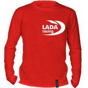 Футболка с длинным рукавом с принтом Lada Racing