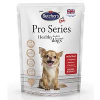 Butcher`s Dog Pro корм для собак, говядина, пауч, 100 г