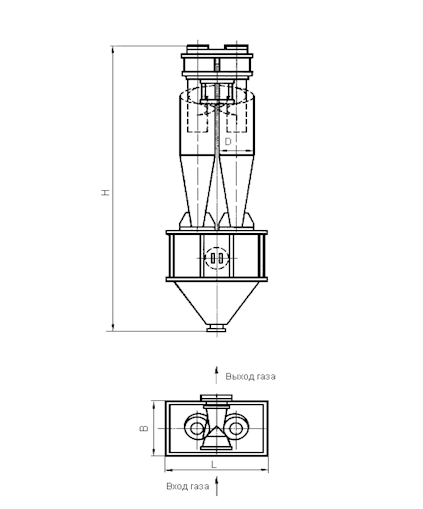 ЦН-15-750-2УП Циклон