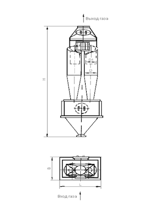 ЦН-15-900-2СП Циклон