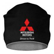 Шапка с принтом Mitsubishi Driven to Thrill