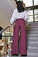 Модные женские брюки  3346 марсала, фото 3