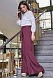 Модные женские брюки  3346 марсала, фото 2