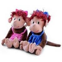 Мягконабивная игрушка Обезьяна Анфиса F 30880-30,мягкие игрушки, отличные подарки для малышей и взрослых
