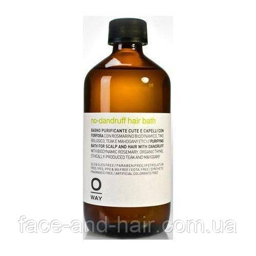 Шампунь для волос от перхоти Rolland Oway purifying hair bath 240 мл