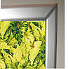 Ролеты тканевые (рулонные шторы) Leaves Decolux для мансардных окон