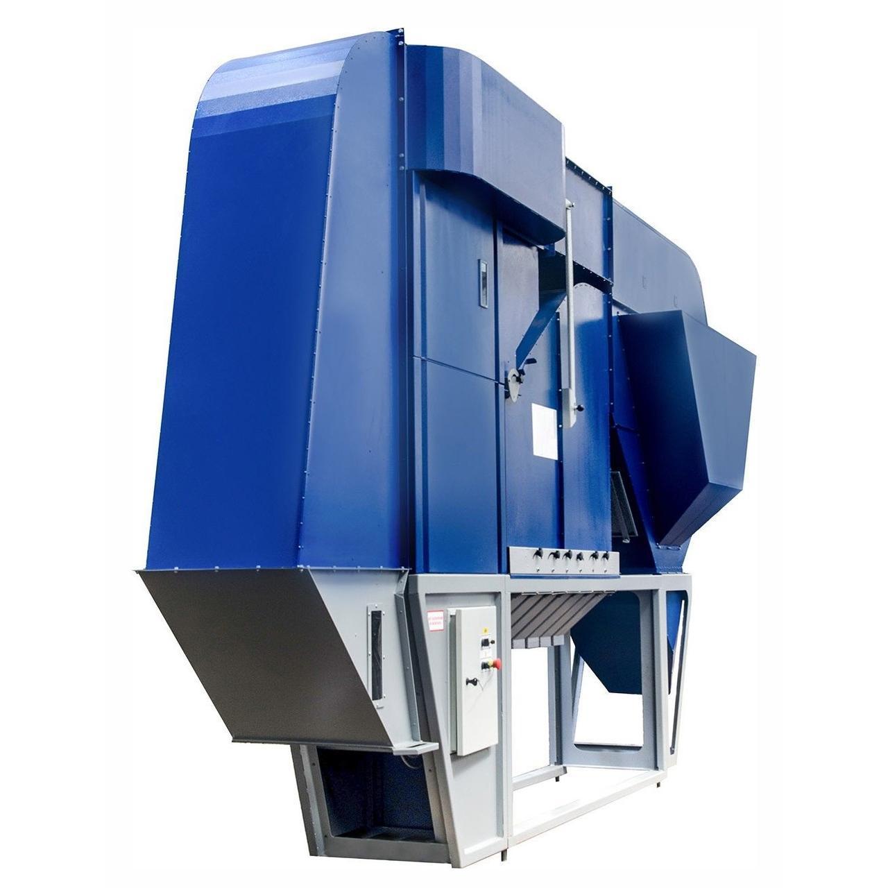 Калибровка зерна сепаратором АСМ-30 с Аспирационной Камерой