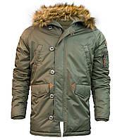 Куртка аляска Top Gun N-3B Parka (оливковая)