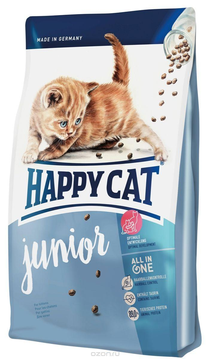 Happy Cat Supreme Junior 10кг-корм для котят (птица,лосось). 10 кг