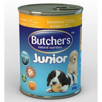Butchers Basic Junior Консерва Из Курицы 400 Г, фото 2