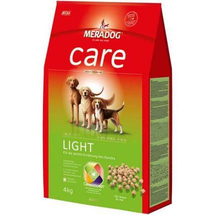 Mera Dog Care Light Корм Для Взрослых Собак С Лишним Весом, 4 Кг, фото 2
